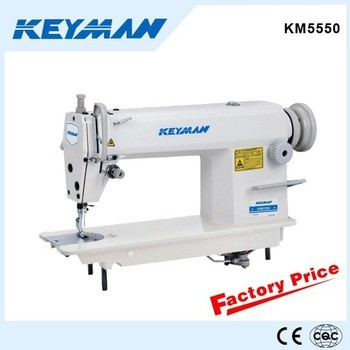 KM5550 High speed lockstitch sewing machine sewing machine table stand 5550 sew machine