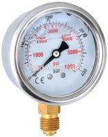 pressure gauge liquid filled