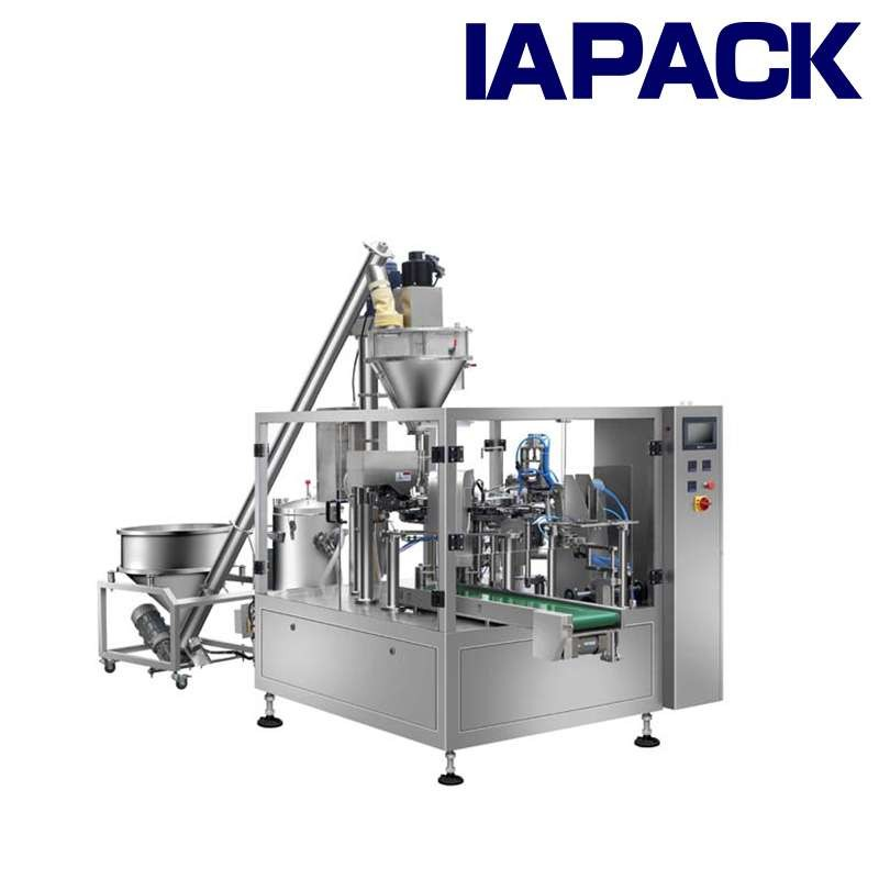 Powder Premade Pouch Packing Machine