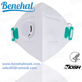 Particulate From Filter Benehal Face N95 Mask Disposable Dust