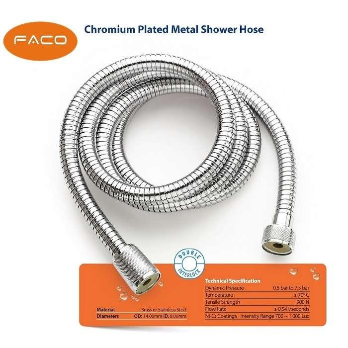 Chromium Plated Metal (SS) Shower Hose