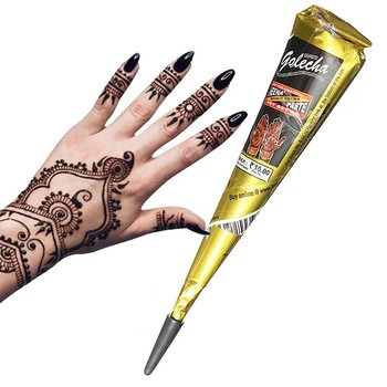 Mehndi Black Henna Paste Cones