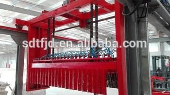 Hollow Gypsum Block Making Machine From Shandong Tengfei