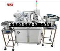 Automatic nail polish filling &amp capping machine
