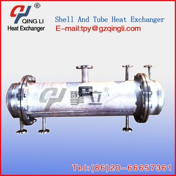 Shell And Tube Type Steam Condenser In Industry From