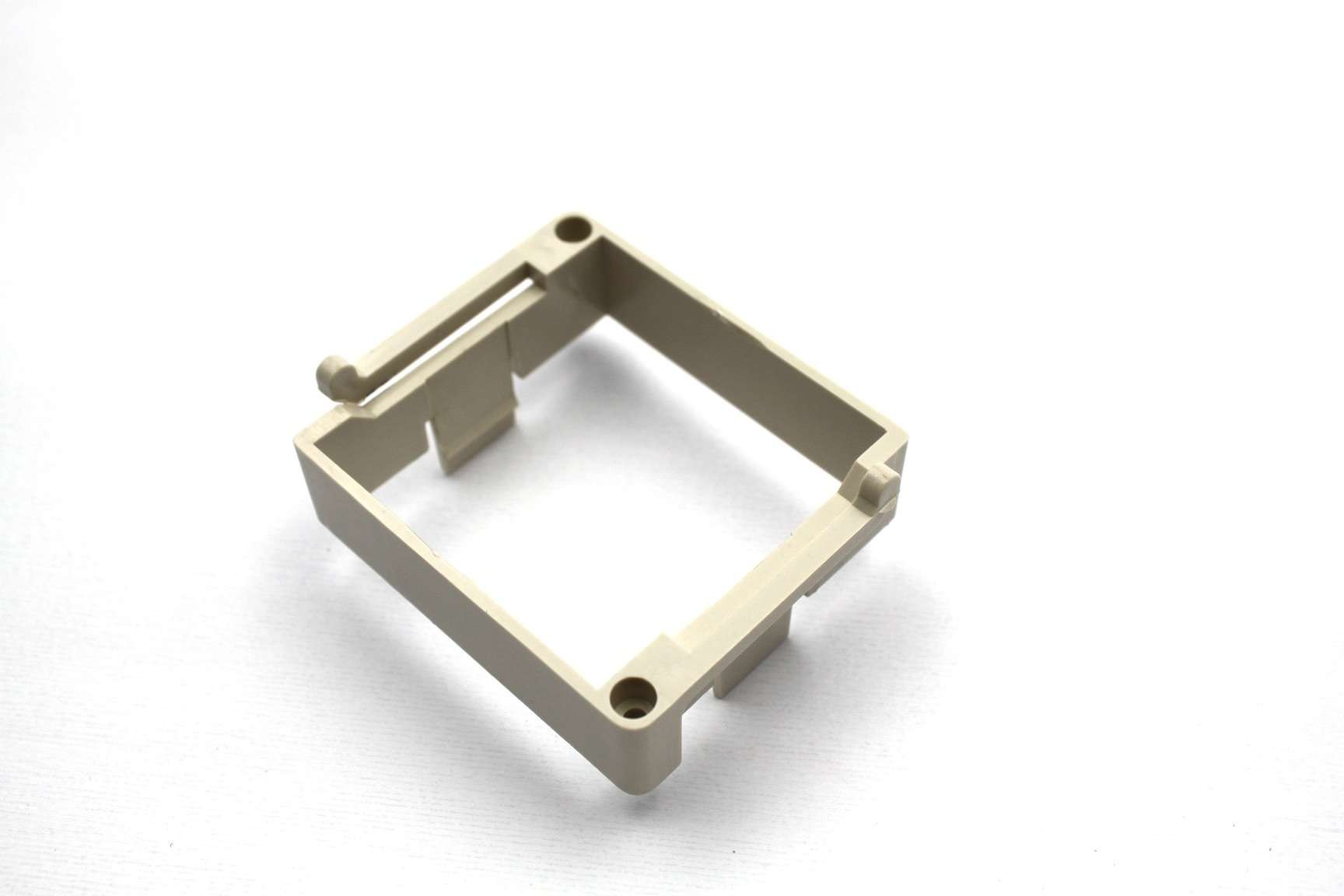 Custom plastic frame by injection molding