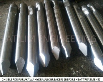 Hydraulic Rock Breaker Chisel From ATILIM MUHENDISLIK INSAAT