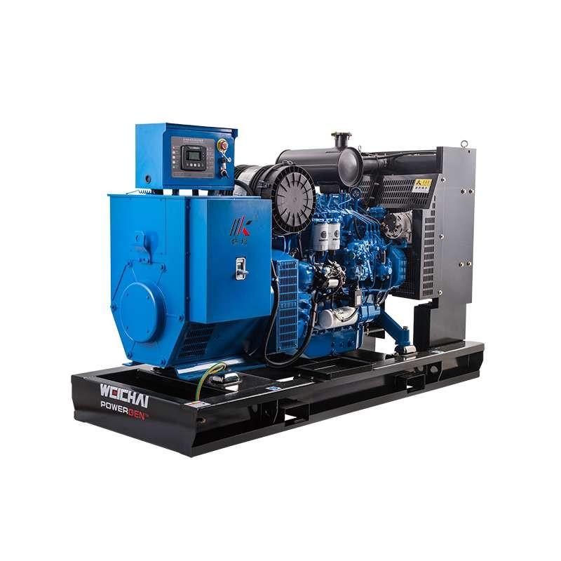 潍柴发动机80kw静音柴油+发电机100kva低价发电机