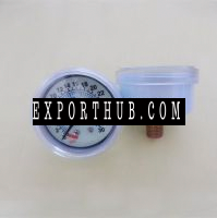 white chrome plate metal phosphorus medical digital pressure gauge