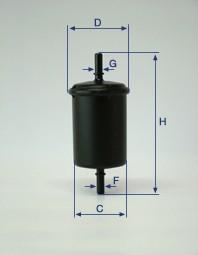 CH10931燃油滤清器元件发动机零件