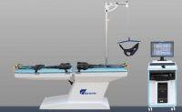 Lumbar traction bed rehabilitation equipment