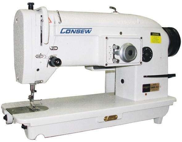Consew 199RB单针落料直缝曲折和大梭芯型1A