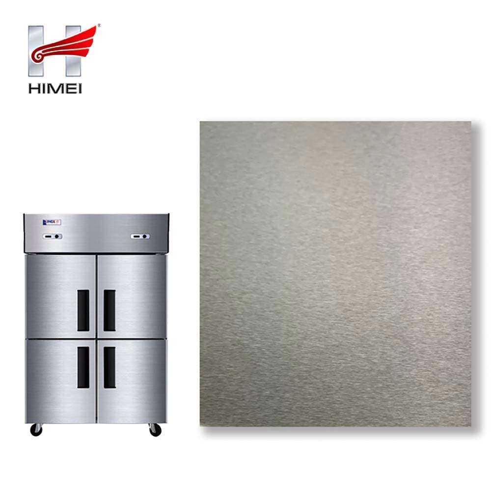 High Standard Metal Drawing Four Door Fridge VCM Laminating Steel Sheet