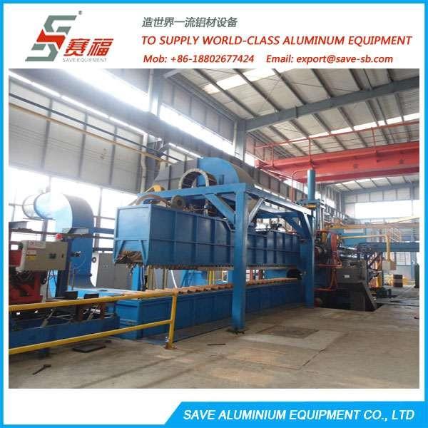 Aluminium Extrusion Profile Cooling System At Press Exit