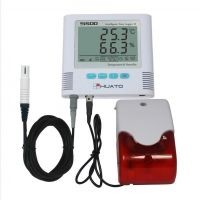 temperature and humidity data logger alarm recorder