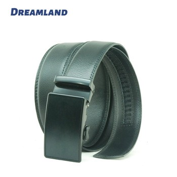 Design Auto Buckle Leather Strap Click Belt