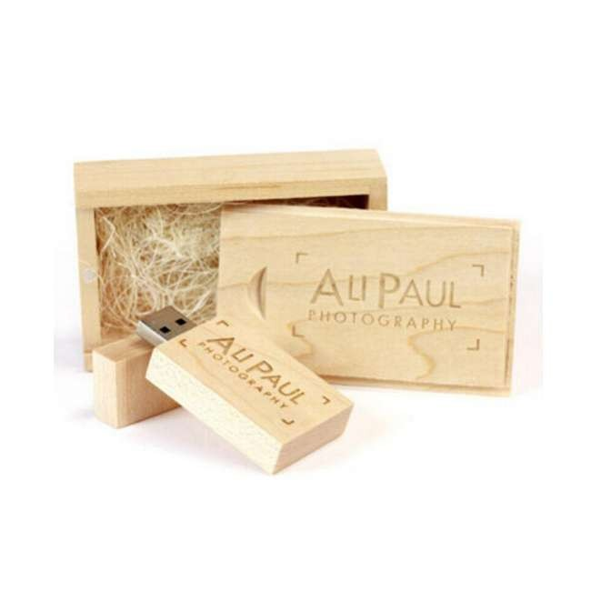 Gift Package Wood USB Flash Drive 8GB Rosewood USB Sticks