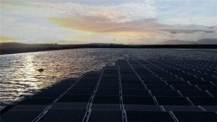 水上太阳能发电系统