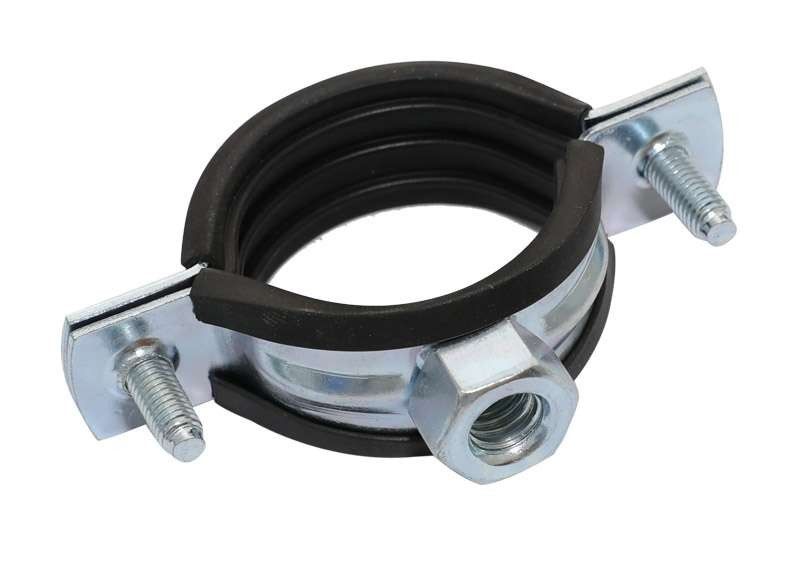 INCH NUT PIPE CLIP WITH RUBBER