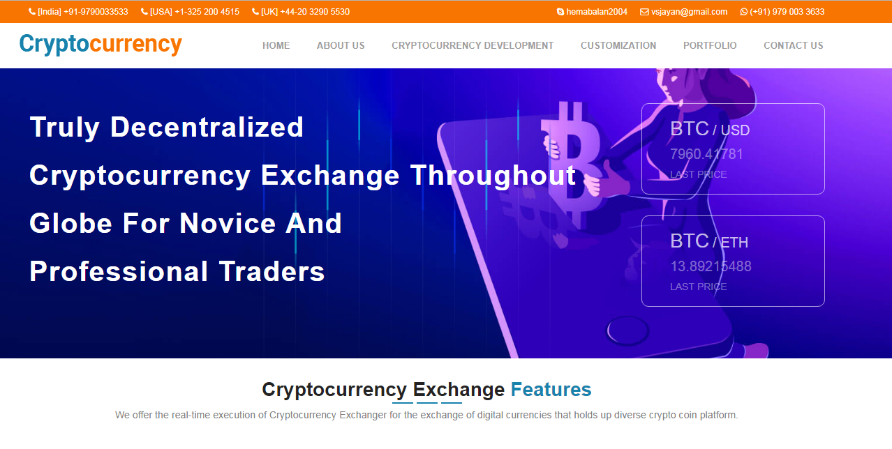 Open Source Cryptocurrency Exchange Platform