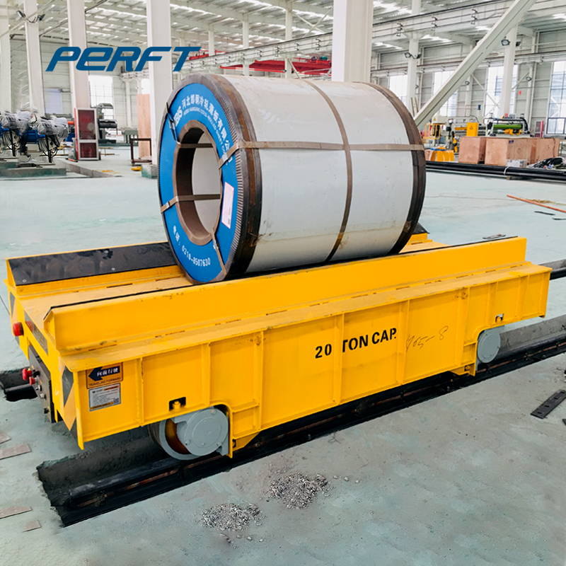 customized factory apply steel coil  transfer cart