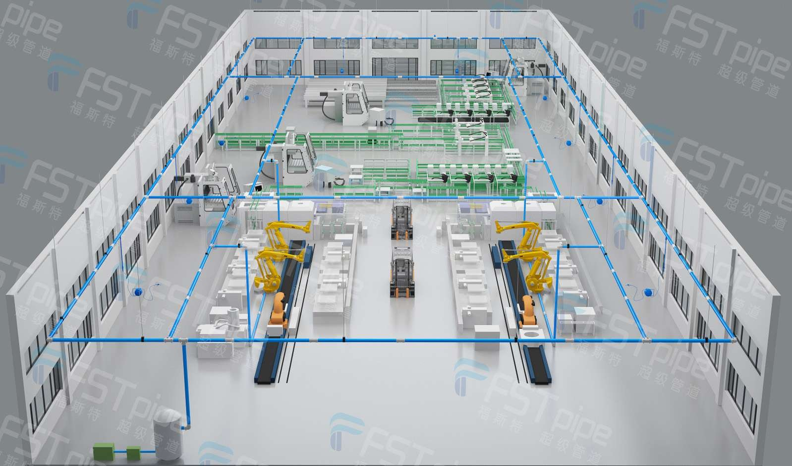 Compressed Air Pipework Systems