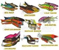 硬诱饵塑料诱饵钓鱼诱饵渔具